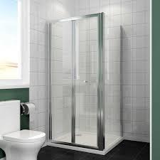 800 Shower Door 800 X 800 Mm Framed Bi Fold 5mm Glass Screen Shower