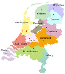 netherlands map cities provinces of the netherlands netherlands tourism
