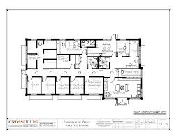 open office floor plan layout