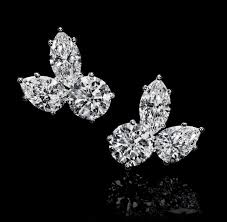 diamond stud earrings melbourne harry winston earrings chagne gem