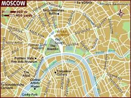 moscow russia map map of moscow