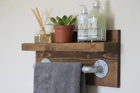 bathroom personalised wooden bathroom storage crate edgeinspired