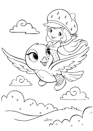 free color pages strawberry shortcake coloring page of giant