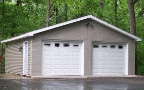 building a 2 car garage custom built garages evansville in