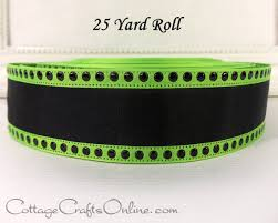 halloween wired ribbon 1 1 2