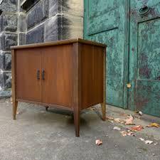 Walnut Cabinet Mid Century Modern Walnut Cabinet Danish From Junkfiendmodern On