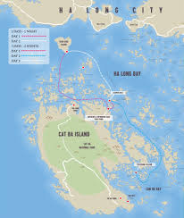 Oasis Map 2 Days 1 Night Oasis Bay Party Cruise Halong Bay Tour Oasis Bay
