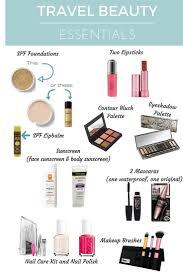 Makeup Basics 10 Must Makeup by Best 25 Vacation Makeup Ideas On Vacation Makeup Tips
