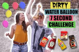 Challenge Water Balloon New Challenges Water Balloon 7 Second Challenge