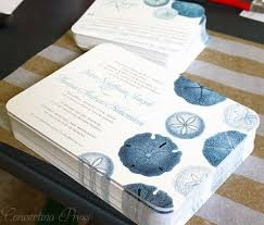 wedding wishes nautical sand dollar wedding invitations from concertina press nerdy