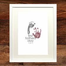 s day personalised baby print poster the