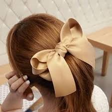 ribbon ponytail new designer fashion hair accessories korean women multicolor
