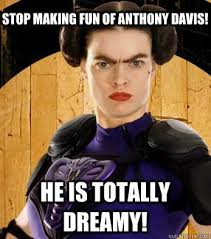 Anthony Davis Memes - funny for funny unibrow memes www funnyton com