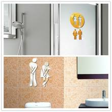 buy decorative bathroom signs and get free shipping on aliexpress com