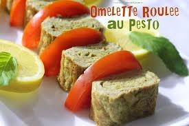 cuisine djouza vidéo omelette roulee au pesto recettes faciles et rapides de