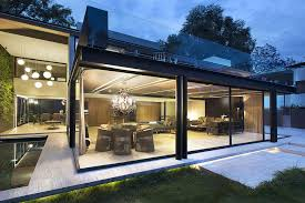 modern concrete steel and glass homes home modern