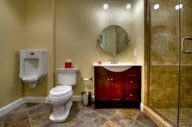 ashburn transitional basement bathroom contemporary bathroom