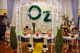 Wizard Of Oz Party Decorations Wizard Of Oz Theme Birthday Party Oh It U0027s Perfect