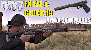 siege fn fn fal glock 19 0 59 exp hotfix weapons dayz