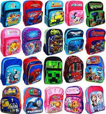 large kids backpack bag paw patrol minion monster