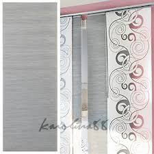 Panel Curtain System Anno Sanela Grey Window Panel Curtain Gray For Kvartal System Rail
