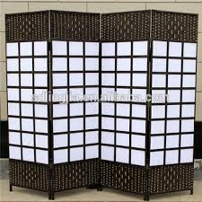 Room Divider Screens by 4 Panels Handmade Plastic Wedding Screen Bamboo Conference Room