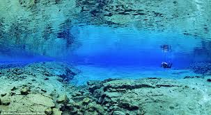 Clearest Water In The Us Divers Capture Images Swimming In Waters Between North American