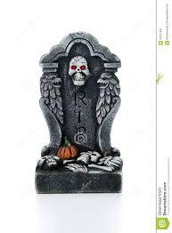 halloween tombstones for sale halloween rip tombstone stock photo image 60271455