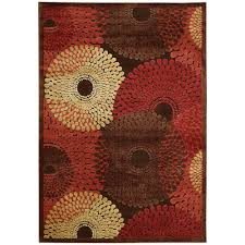 Graphic Area Rugs Nourison Graphic Illusions Brown 5 Ft 3 In X 7 Ft 5 In Area