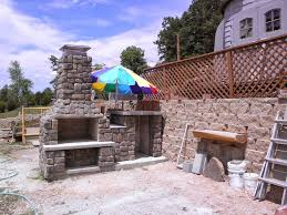 the szymski family wood fired brick pizza oven and fireplace combo