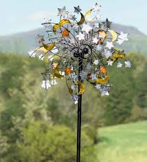celestial confetti wind spinner decorative garden accents wind