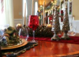 dining rooms wonderful festive room decorations for remarkable