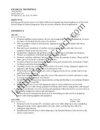 Electrical Technician Resume Resume Sle In Pdf 28 Images Resume In Arts Education Sales