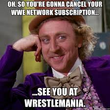 Wwe Network Meme - oh so you re gonna cancel your wwe network subscription see