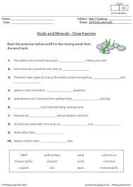 primaryleap co uk rocks and minerals fact sheet worksheet