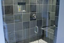 Trackless Bathtub Doors Shower Stunning Trackless Shower Doors Cool Frosted Glass Shower