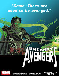Uncanny Comics New Uncanny Avengers Teaser Features Return Of U0027brother