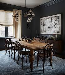 black dining room attractive black dining room cozynest home