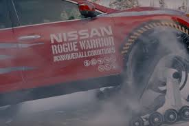 Nissan Rogue Warrior - this nissan rogue warrior prototype play in the snow