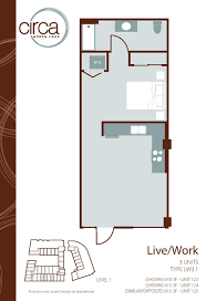 floor plan live floor plans of circa green lake apartments in seattle wa
