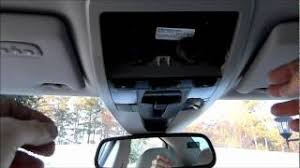 volvo s40 ceiling console removal youtube