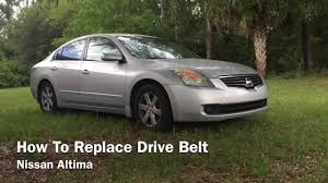 nissan acura 2007 how to replace serpentine drive belt nissan altima 2007 2012