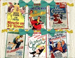 classic christmas vintage movie poster diy digital garland banner