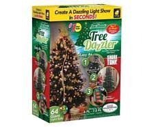 as seen on tv christmas lights tree dazzler christmas light show 64 animated lights us seller as