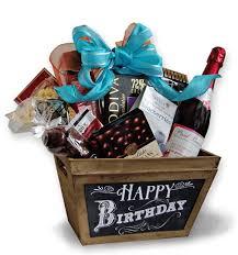 happy birthday gift baskets 78 00 happy birthday chalkboard gift basket toronto canada