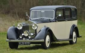roll royce limousine 1933 rolls royce 20 25 hooper limousine vintage u0026 prestige