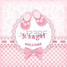 baby shower girl images stock pictures royalty free baby shower