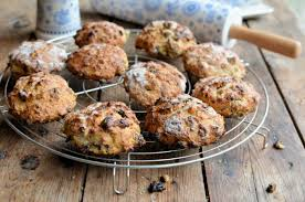 to christmas mincemeat scones for the christmas tea time table