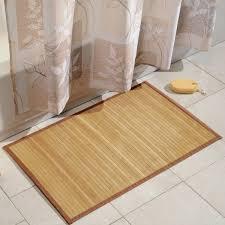 beautiful bamboo room for bathing mat classy inspirational ideas