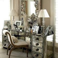 Makeup Vanity With Lighted Mirror Vanities Rosedale Mirrored Vanity Contemporary Bedroom And
